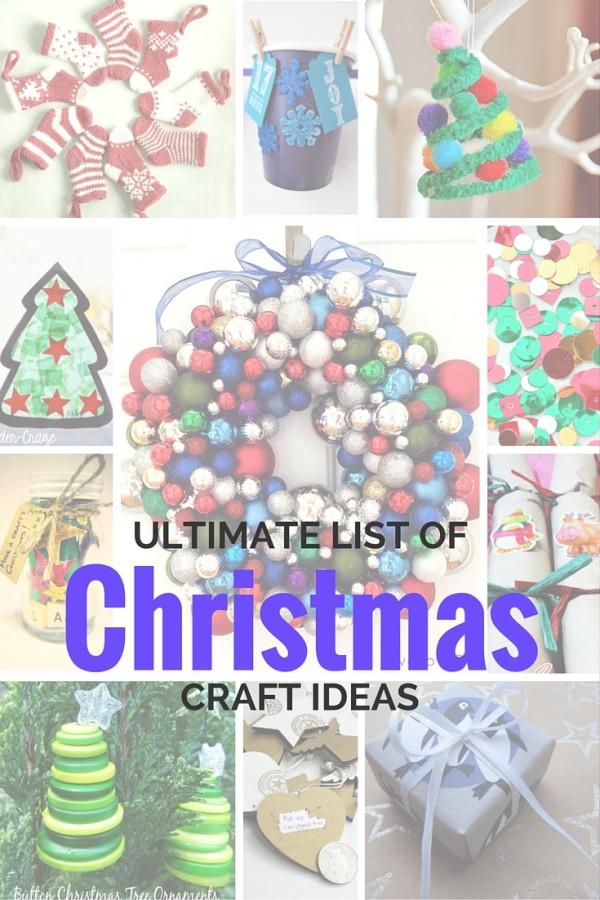 Christmas craft ideas PIN