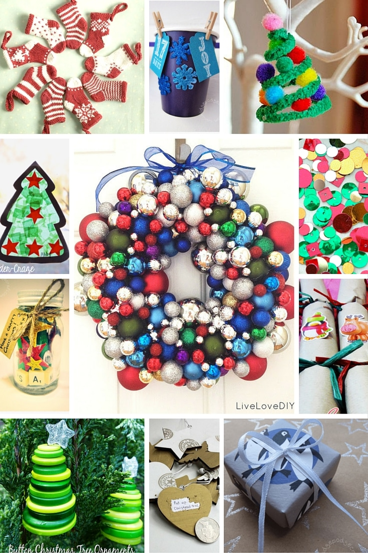 30+ Cracking Christmas craft ideas!
