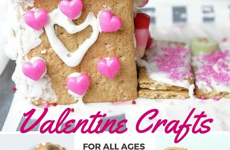 Gorgeous Valentine crafts for all ages