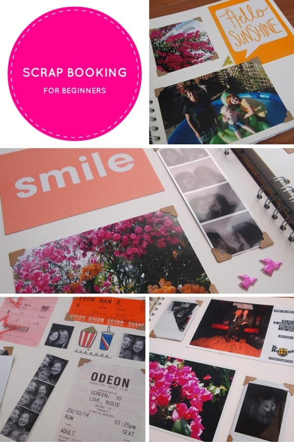 SCRAPBOOKING for beginners